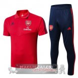 Arsenal Rosso Blu Set Completo POLO 2019-20