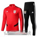 Benfica Insieme Completo Rosso Giacca 2019-20