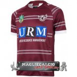 Home Rugby Maglia Calcio Manly Sea Eagles EURO 2018