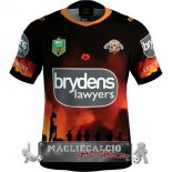 Anzac Round Rugby Maglia Calcio Wests Tigers EURO 2018
