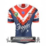 Anzac Rugby Maglia Calcio Sydney Roosters EURO 2018