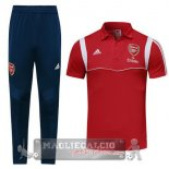 Arsenal Rosso Set Completo POLO 2019-20