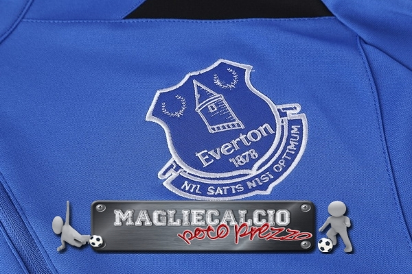 Everton FC Insieme Completo Blu Giacca EURO 2017-18